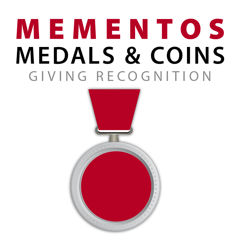 Bring you to Mementos, Medals, and Coins Page