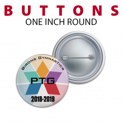 one inch round buttoms customizable