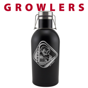 custom growlers engraving