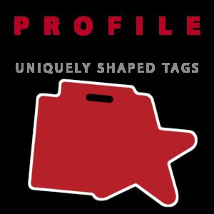 profile bag tags