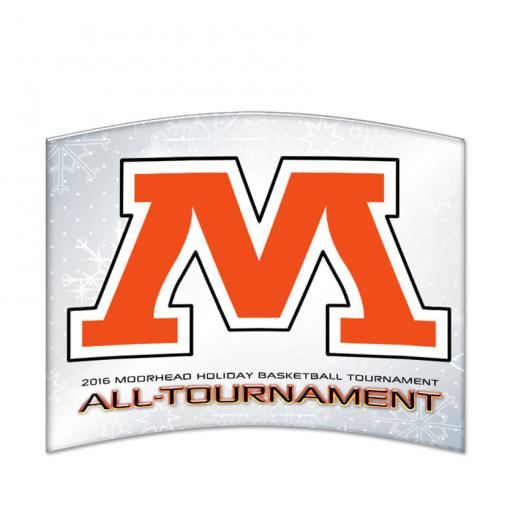 customizable personization individualization stand alone trophy award logo branding sport name number achievement tournment mememto