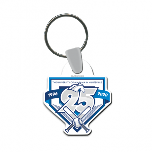 keychain customizable logo events teams sport