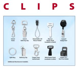 bag tag accessories clips swivel hook bull dog clip detachable cell phone holder narrow plastic hook badge reel split ring trigger snap wide plastic hook gripper