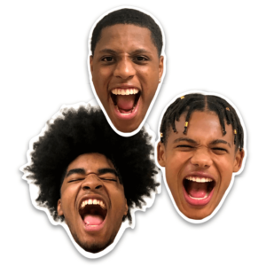 head customizable magnetics logos image photographs cuts size