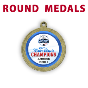 round medal