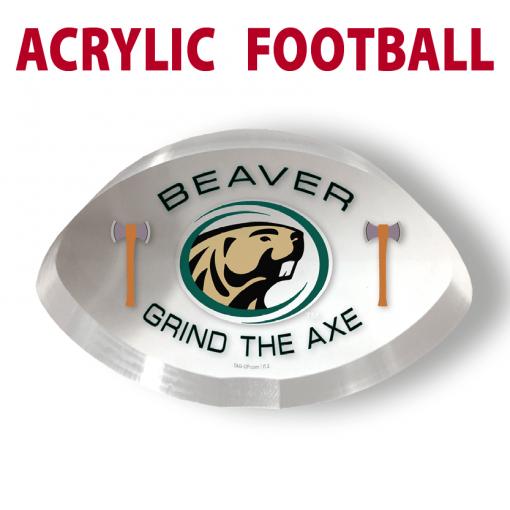 acrylic football custom