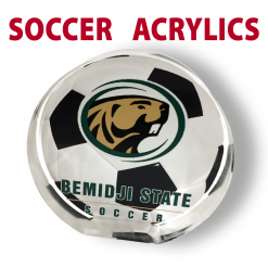 soccer acrylics memento award individualize personization customization logo image sport place