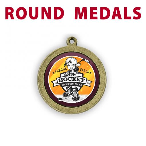 round medals