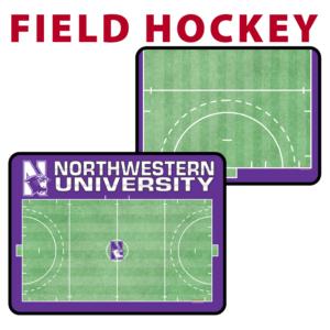 field hockey field full half traditional standard sideline court side dry-erase whiteboards boards hand held