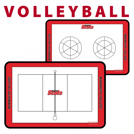 volleyball court rotation traditional standard sideline court side dry-erase whiteboards boards hand held
