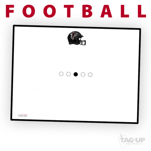 football play traditional standard sideline court side dry-erase whiteboards boards hand held
