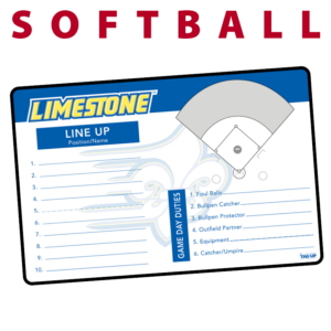 softball line up field traditional standard sideline court side dry-erase whiteboards boards hand held