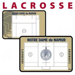 lacrosse customization personization Sideline Dry-Erase Board double sided team logo colors branding