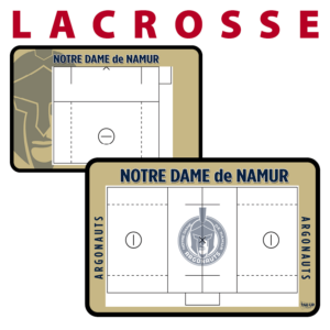lacrosse customization personization Sideline Dry-Erase Board double sided team logo colors branding
