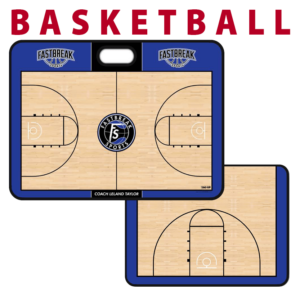 basketball oval handle full half court traditional standard sideline court side dry-erase whiteboards boards hand held
