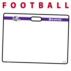 football helmet note writing area traditional standard sideline court side dry-erase whiteboards boards hand held