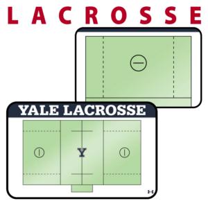 lacrosse field full half field traditional standard sideline court side dry-erase whiteboards boards hand held
