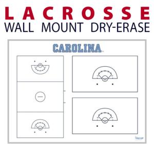 lacrosse field full half wall mount dry-erase board whiteboard customizable personizable individualizable branding logo team sport size information