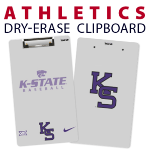 athletics baseball double sided dry-erase clipboard customized personalize team sport colors logo