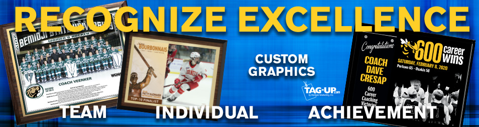 plaques customized indivdualized personalized photographs name title sport achievement award memento