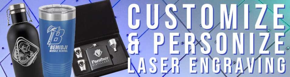 customized personized individualized laser engraving items gifts mementos prizes nameplates logos