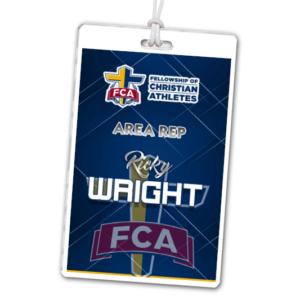 athletics laminate rectangle sport bag tags luggage badges customized personalized number name