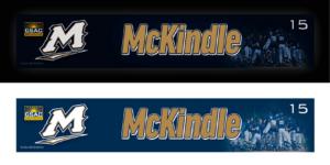 back-lit locker nameplate workout slide in LED light box customizable team color logos personlization individualize name number baseball