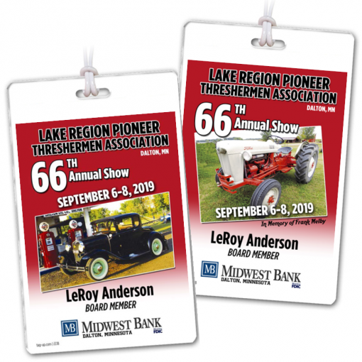 event car show department board member department credentials bag tags luggage badges customized personalized number name title date city