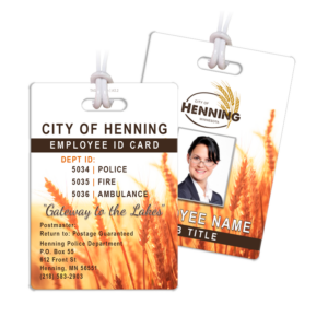 city business company department employee identification id card department credentials bag tags luggage badges customized personalized number name title photo