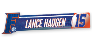 baseball profile shaped locker nameplate workout room office customizable team color logos personlization individualize name number