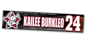 basketball travel standard locker nameplate workout room office customizable team color logos personlization individualize name number