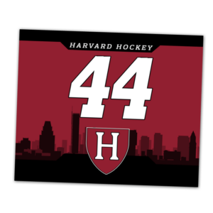 duffy bag window instert customizable team color logos personlization ice hockey individualized numbers