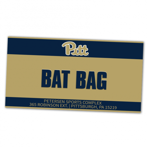duffy bag window instert customizable team color logos personlization university college athletics branding