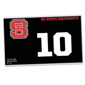 duffy bag window instert customizable team color logos personlization university college team brand