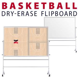basketball floor customizable dry-erase board whiteboard portable flipboard