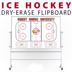 ice hockey rink customizable dry-erase board whiteboard portable flipboard