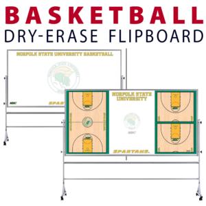 customizable basketball field dry-erase board whiteboard portable flipboard