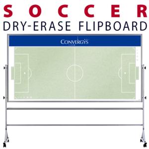 soccer field dry-erase board whiteboard portable flipboard