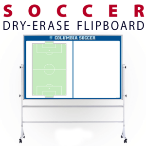 soccer field athletics tactical formation dry-erase board whiteboard portable flipboard