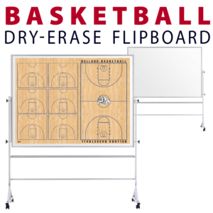 basketball tactical formation customizable dry-erase board whiteboard portable flipboard