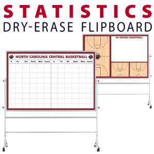 statistics customizable dry-erase board whiteboard portable flipboard