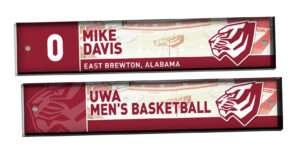 customizable individualize acrylic locker nameplate branding logo sport basketball