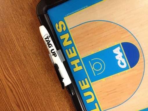 dry-erase marker and sideline board
