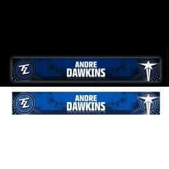custom back lit locker nameplates