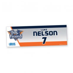 custom standard traditional locker plate hockey athletics