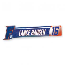 custom profile locker plate baseball