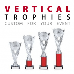 custom Vertical Awards trophies