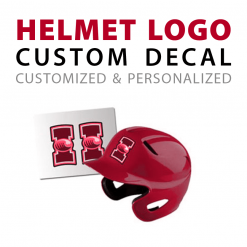 Customizable Helmet Logo Decals
