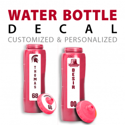 custom water bottle decals stickers