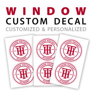 Customizable Window Decals Stickers